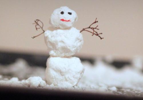Pasigaminkime sniegą...namuose!
