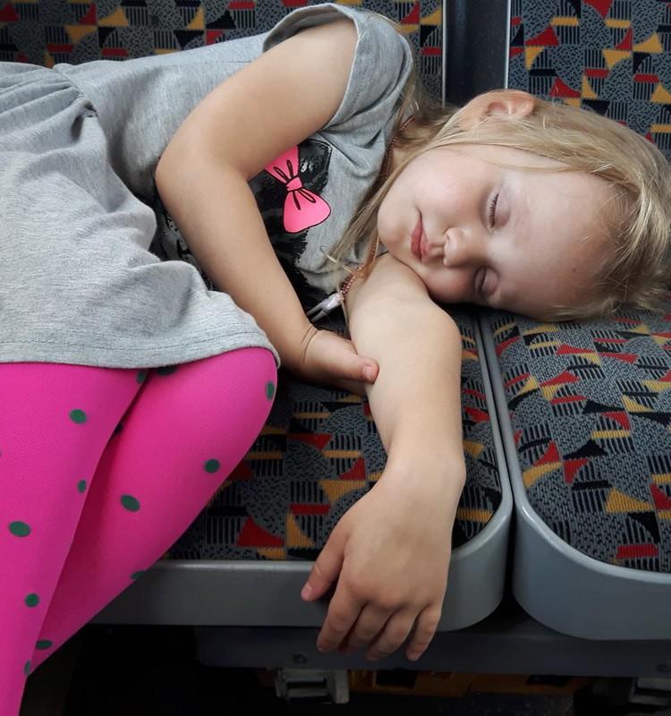Augustės dienoraštis: keturmetės miego ypatumai