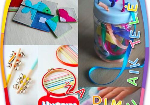 Žaislai DIY arba ką gali pasidaryti pats