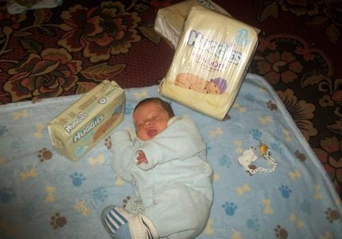 Danuko fotosesija su Huggies Newborn
