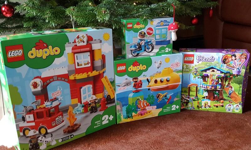 LEGO Kalėdos ir Padėka