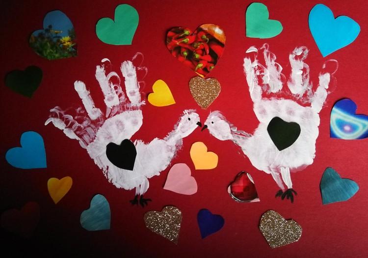Valentino atvirukai - paveikslai