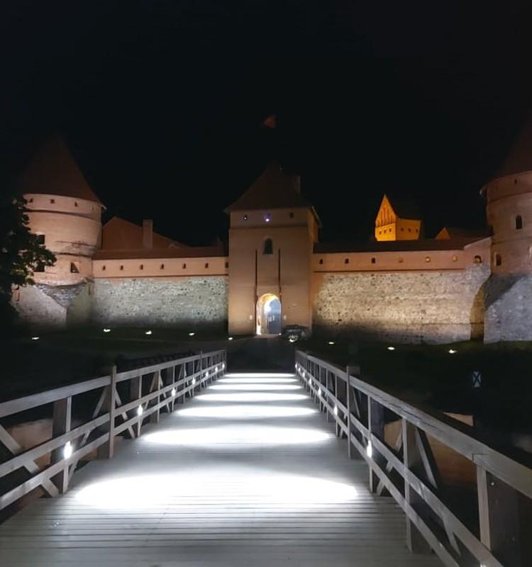 Trakai - ramybės oazė gražios gamtos apsuptyje