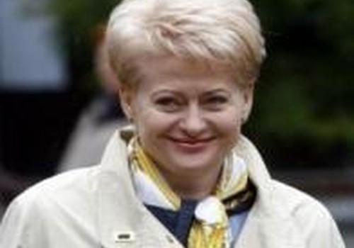 """D.Grybauskaitė: """"Didesnio kritimo nebus"""""""