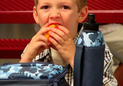 Kokių maisto produktų įdėti vaikams į mokyklą?
