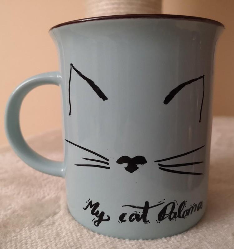 Dekoruojame keramikinius puodelius