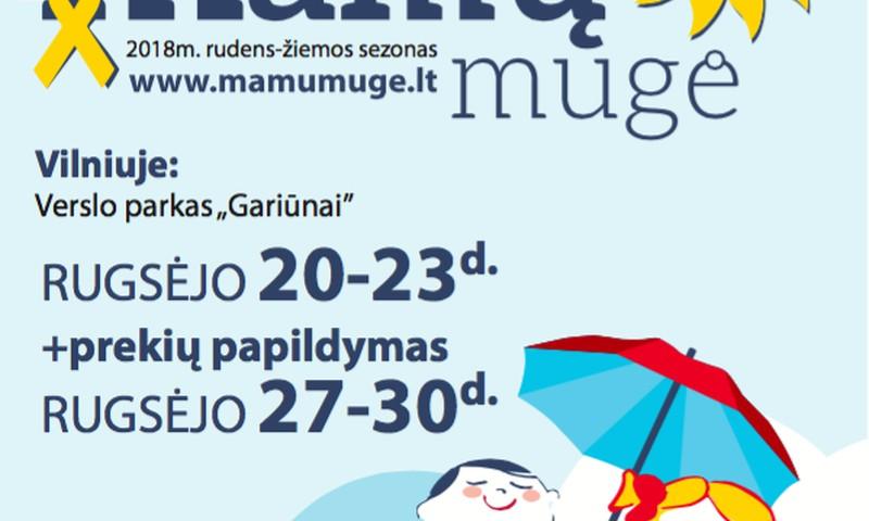 """""""Mamų mugė"""" Vilniuje - jau šį savaitgalį"""