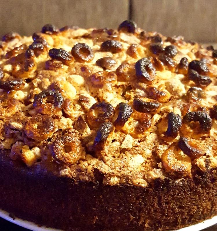 Avižinis pyragas - improvizacija