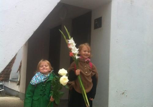 Smiltės ir Eleonoros rugsėjo 1-oji!