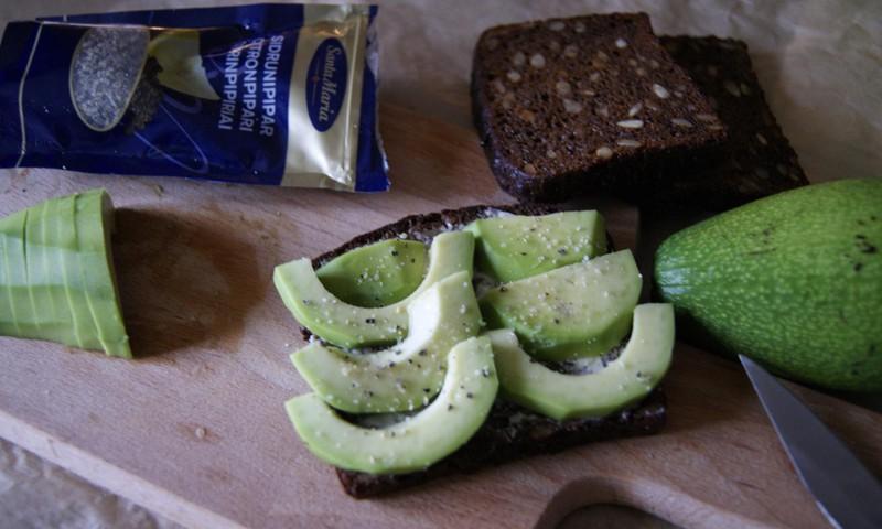 Receptų blogas: sumuštiniai su avokadu