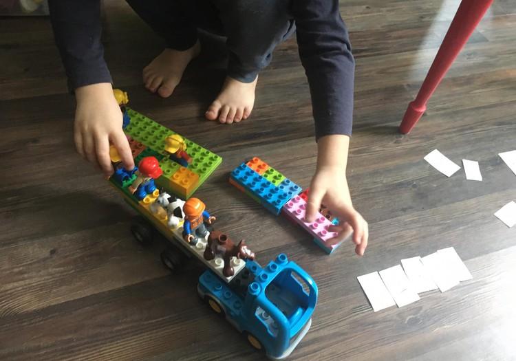Žaidimų idėjos su LEGO