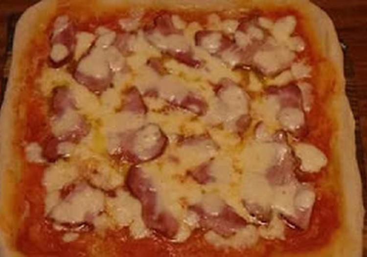 Neapolietiška pica pagal Jurgį ir Drakoną