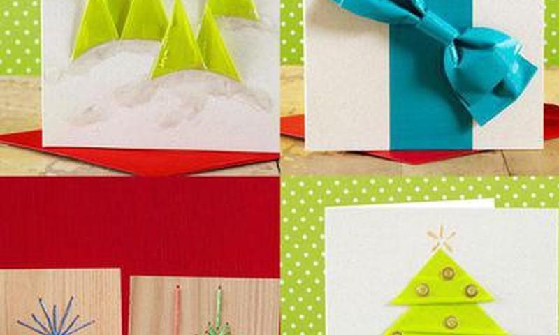 FOTO: 33 idėjos, kaip pasigaminti kalėdines atvirutes