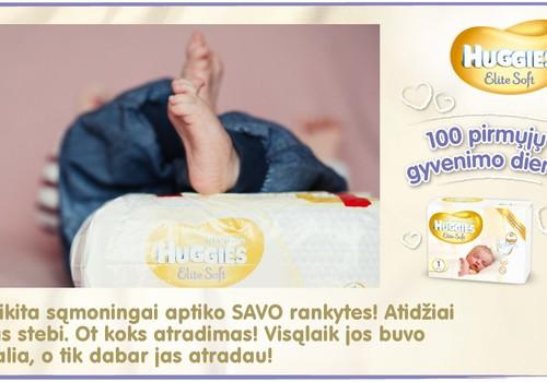 Mažylis auga kartu su Huggies® Elite Soft: 85 diena
