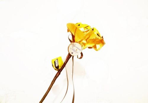 Saldainių gėlės. Idėja Mokytojų dienai