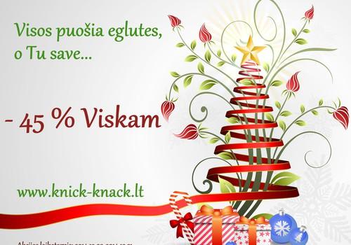 Knick-Knack papuošalai -45 proc.
