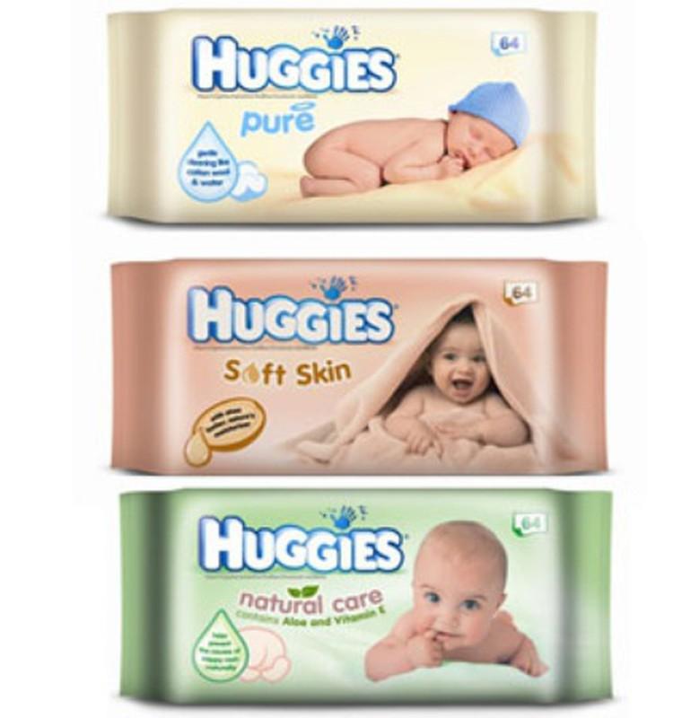3 tipų drėgnos servetėlės Huggies® - trims skirtingoms mamytėms!