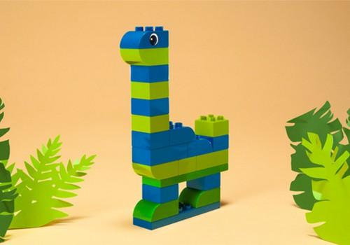 Pasistatyk pats: LEGO DUPLO dinozauras