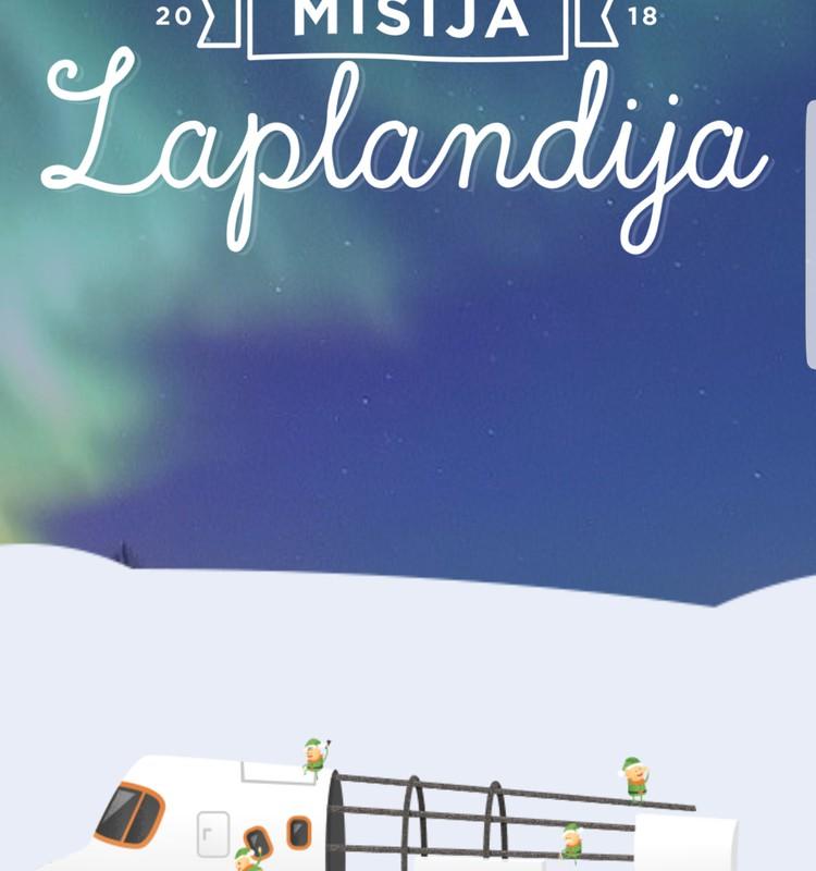 Misija Laplandija 2018. Dalyvaujate?