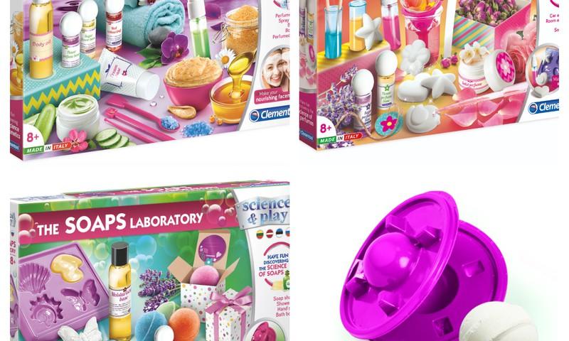 """Ieškome moksleivių, mėgstančių eksperimentuoti ir išbandyti """"Clementoni"""" žaidimų laboratorijas"""