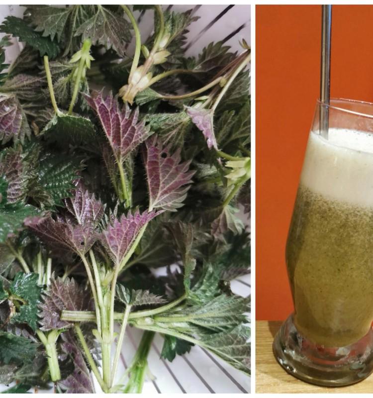 Žaliasis dilgėlių kokteilis