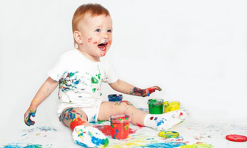 Kuo kūdikiams naudingas piešimas?