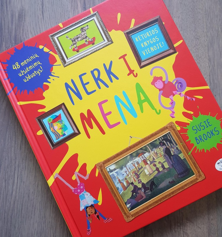 Įkvėpimų knyga ''Nerk į meną''