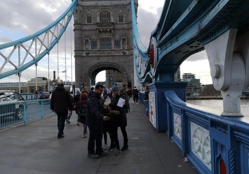 Iš kelionių skrynelės. Londono Tauerio tiltas