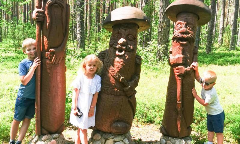 Vasaros gidas: Išvyka į Zamečkavo skulptūrų parką
