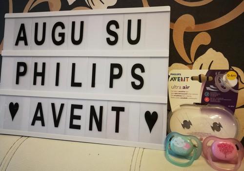 Augu su Philips Avent