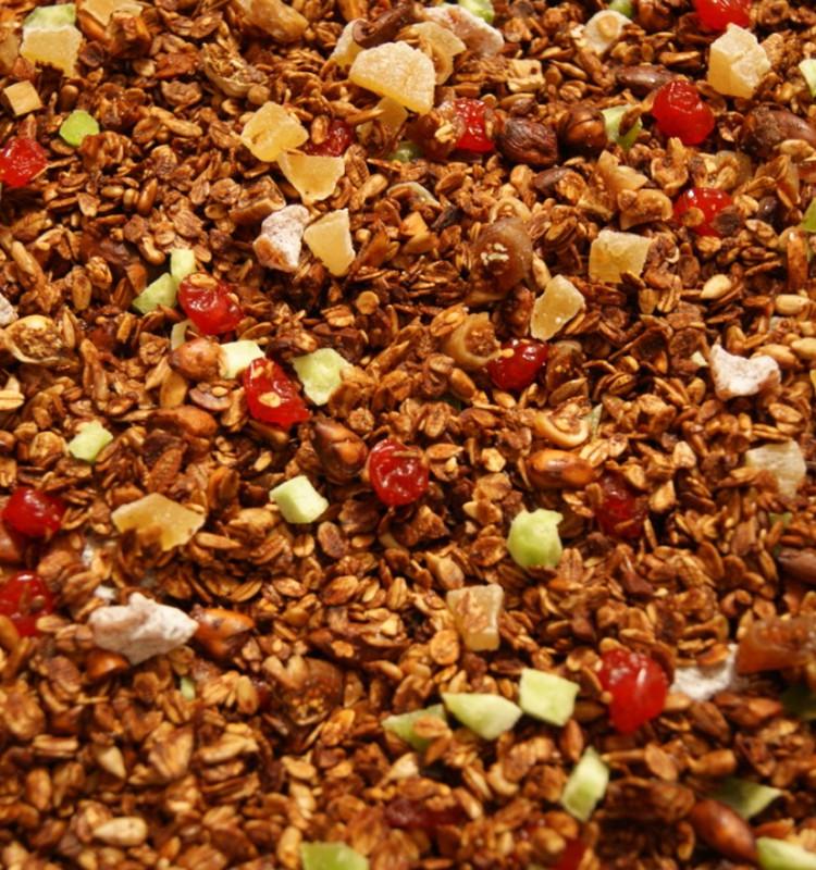 Receptų blogas: granola (sausi pusryčiai)