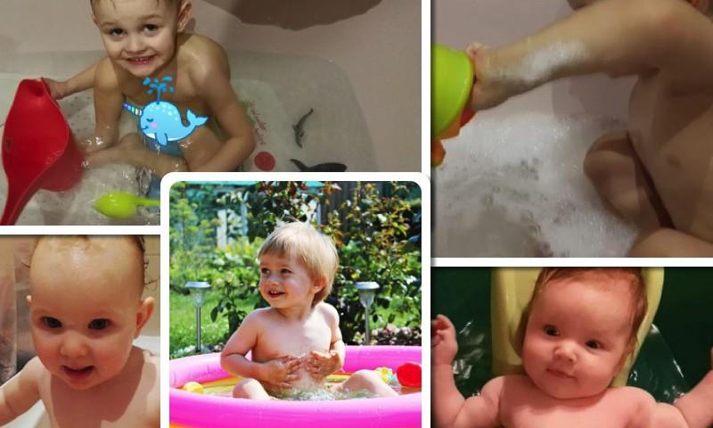 Mažylių maudynių FOTOALBUMAS + trys laimėtojos