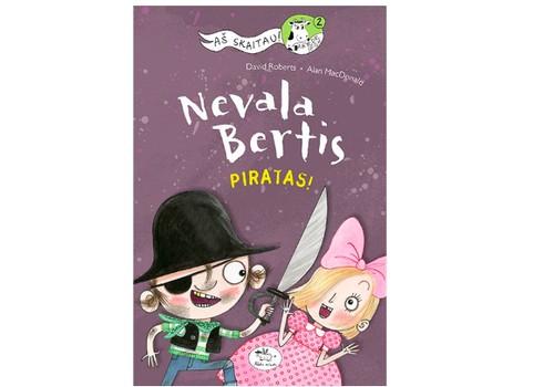 """Renkame knygos """"Nevala Bertis. Piratas"""" laimėtoją"""