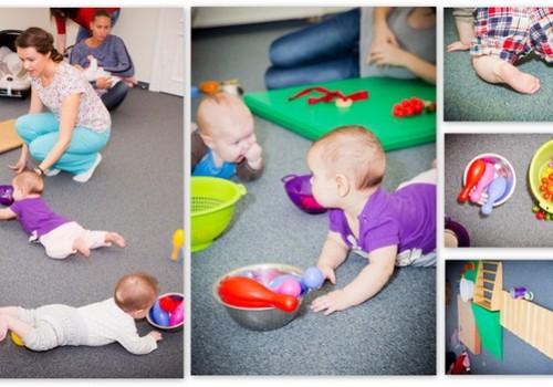 Žaidžiame su kūdikiu iki 1 metų: užsiėmimų idėjos
