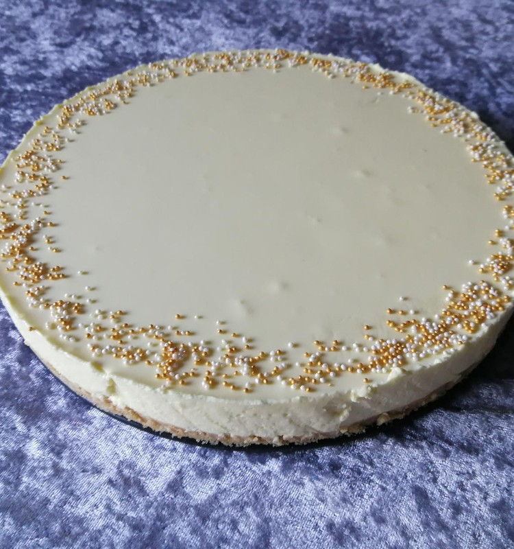Nuodėmingai skanus ir pragariškai riebus sūrio pyragas